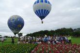 熱気球体験(鳥見山公園)