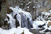 【八流の滝(雪景色)】